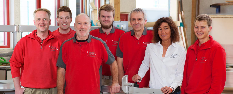 Mitarbeiter Tischlerei Kraume