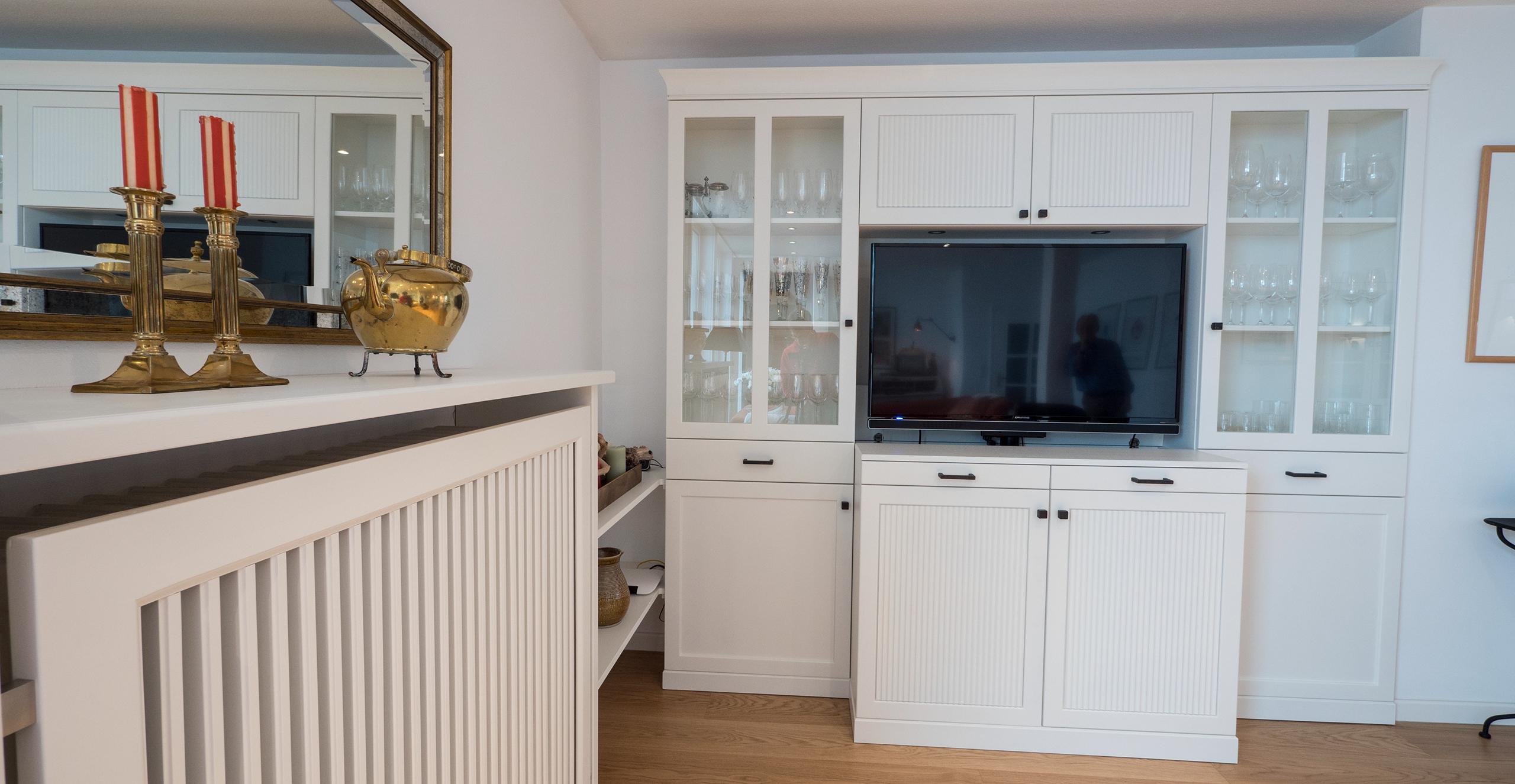 TV Schrank im modernen Landhausstil